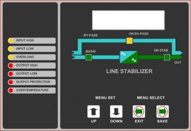 Mikroişlemci Kontrollü Servo Voltaj Regülatörleri - Küçük Görsel